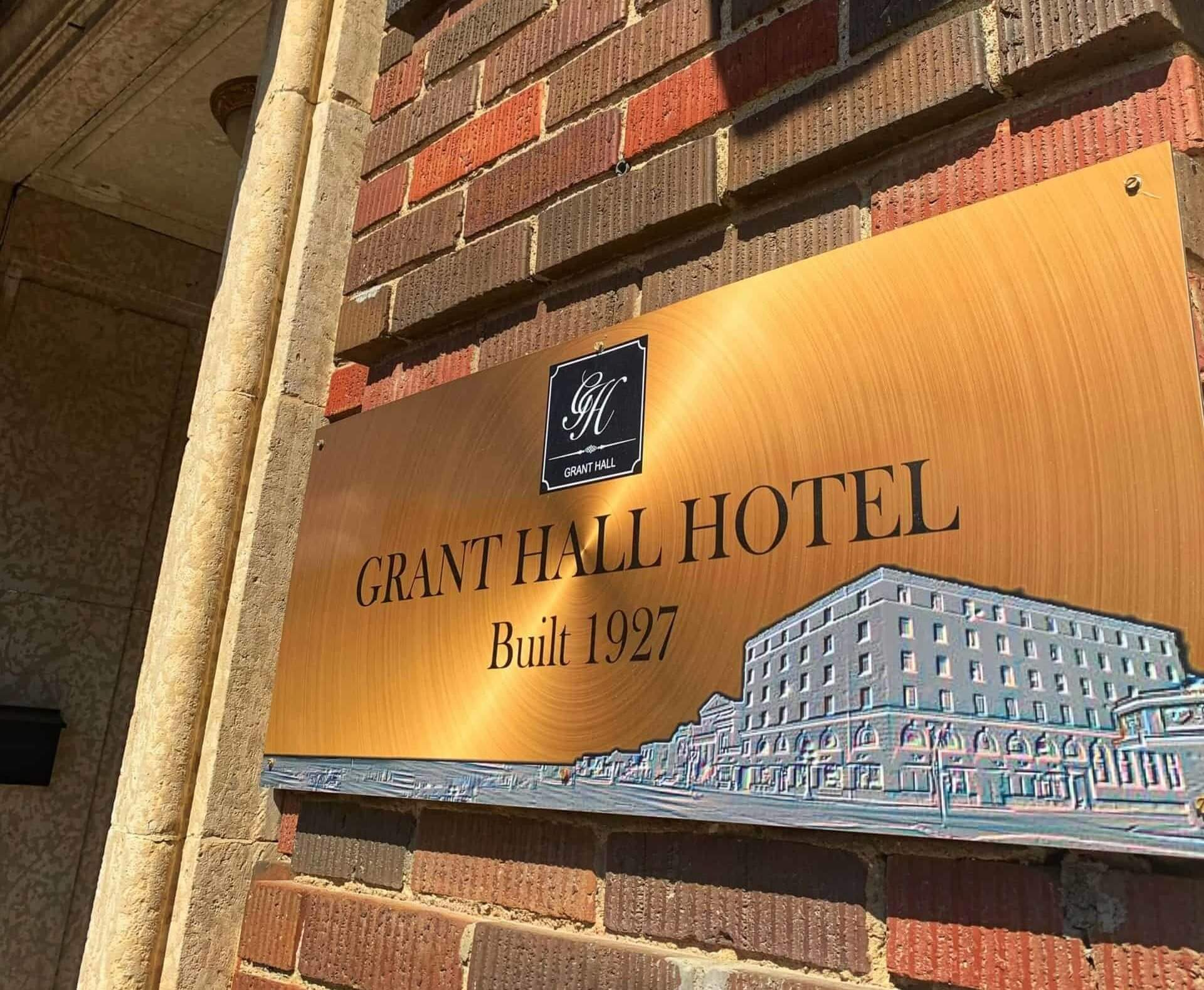 Grant Hall Tastings