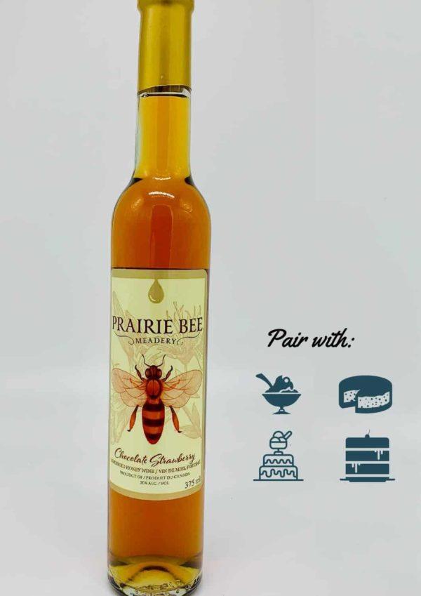 Honey Wine Saskatoon - Prairie Bee Meadery